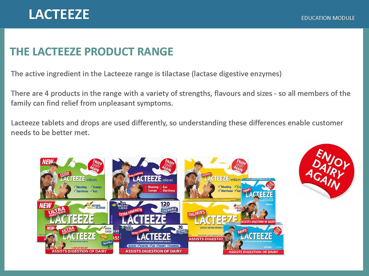 Lacteeze Education Module 06
