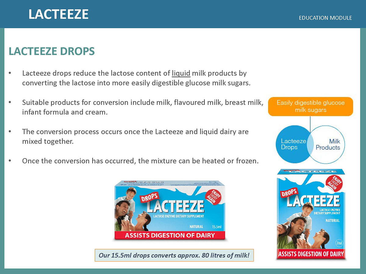 Lacteeze Education Module 09